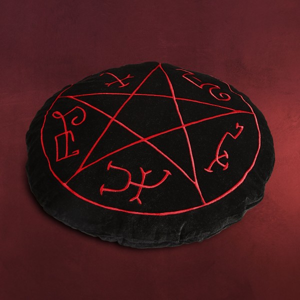 Supernatural - Teufelsfalle Symbol Kissen