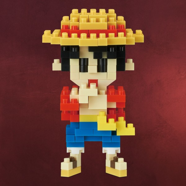 One Piece - Luffy nanoblock Mini Baustein Figur