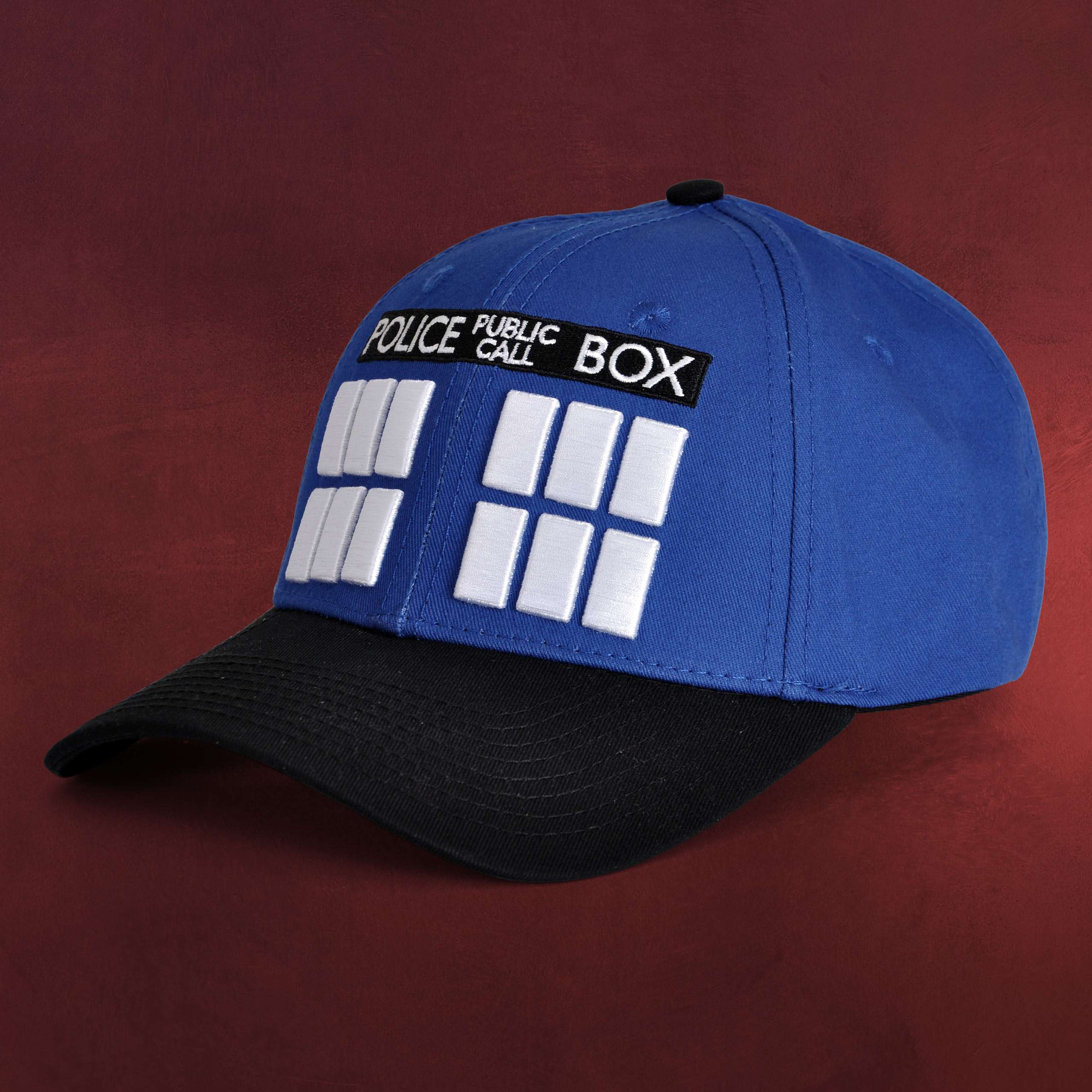 3cbfa2b53e94 Doctor Who - Tardis Basecap blau   Elbenwald