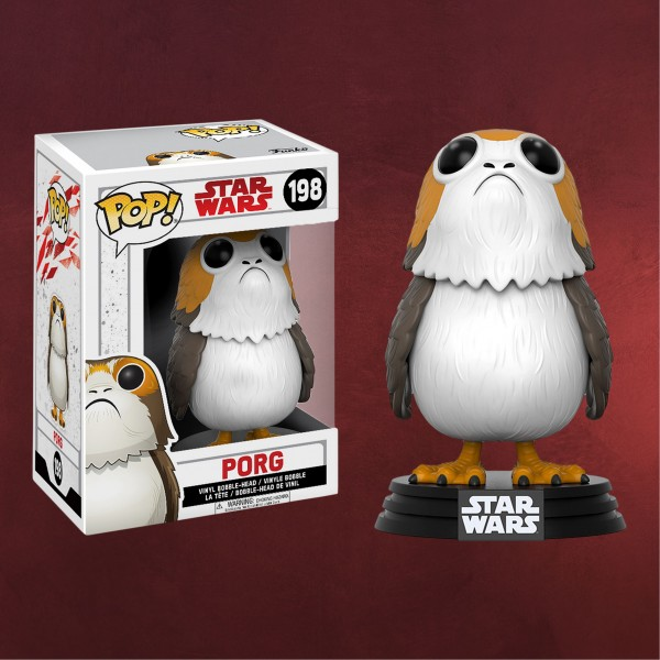 Star Wars - Porg Wackelkopf-Figur