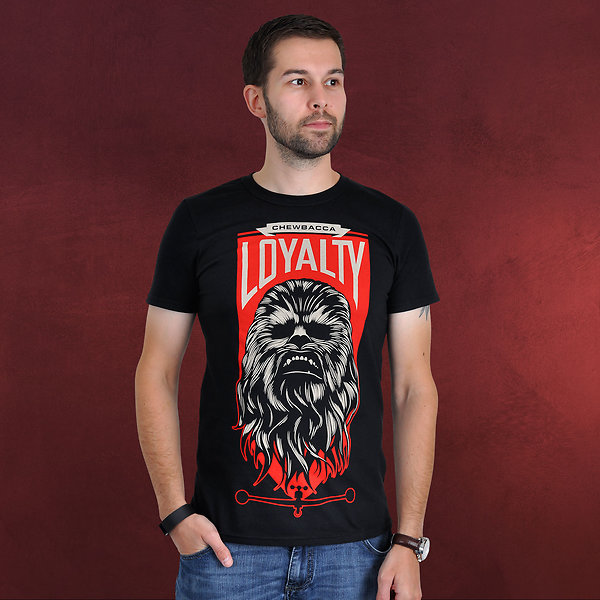 Star Wars - Chewbacca Loyalty T-Shirt schwarz