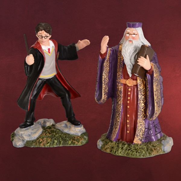 Harry Potter - Dumbledore und Harry Figuren Set