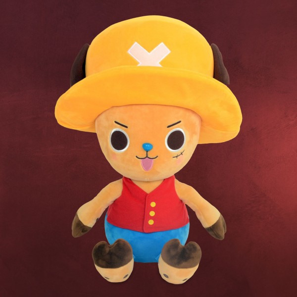 One Piece - Chopper Ruffy Cosplay Plüsch Figur 20 cm