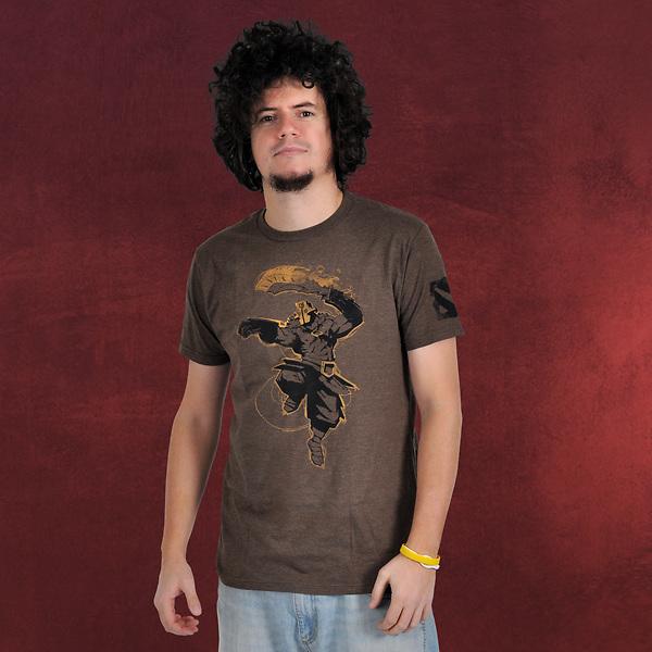 DotA 2 - Juggernaut T-Shirt braun