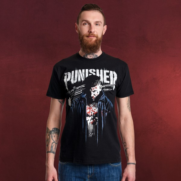 Punisher - Dressed in Blood T-Shirt schwarz