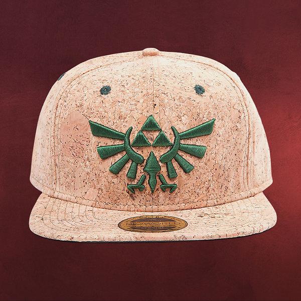 Zelda - Triforce Logo Kork Snapback Cap