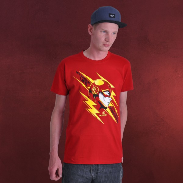 Flash - Runner T-Shirt rot