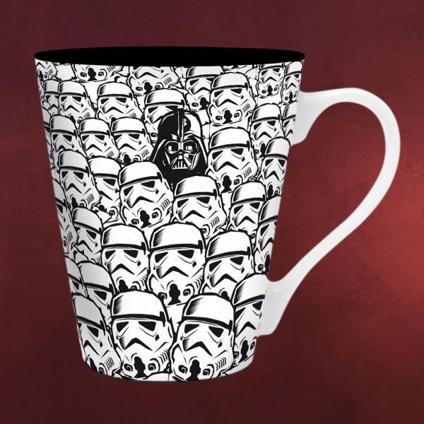Star Wars - Troopers & Vader Tasse