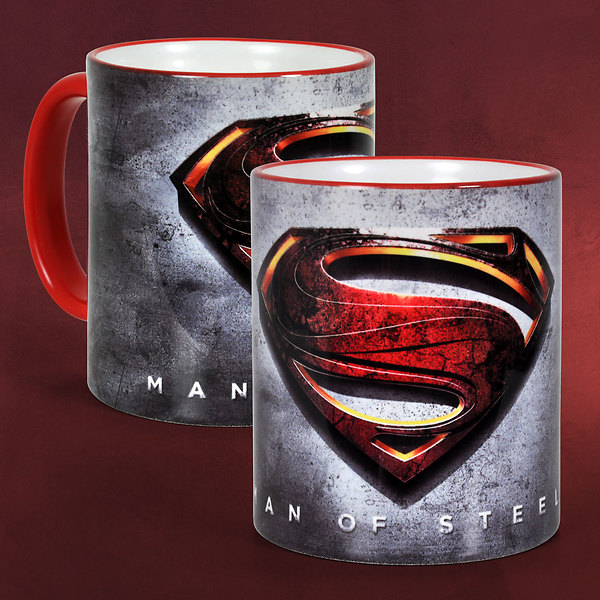 Superman - Man of Steel Logo Tasse