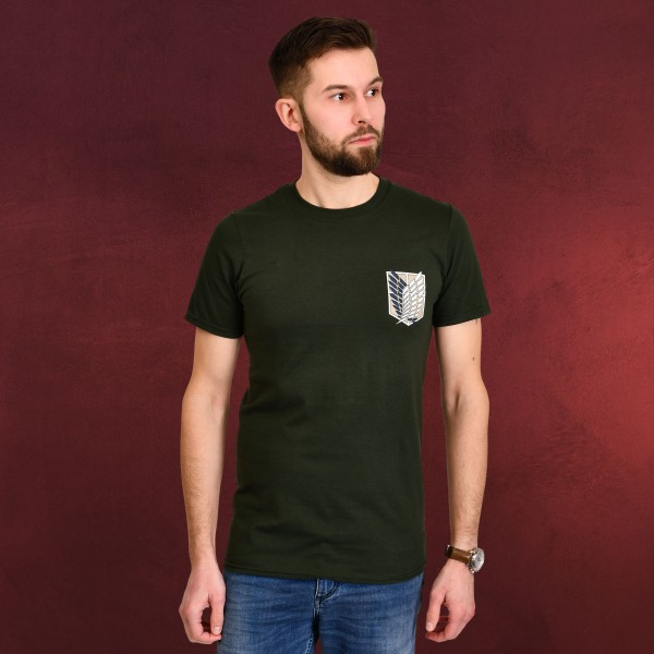 Attack on Titan - Survey Corps T-Shirt grün