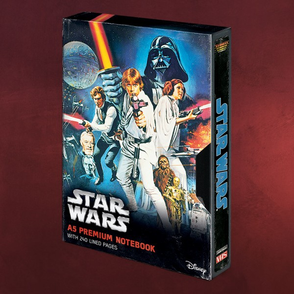 Star Wars - A New Hope Premium Notizbuch A5