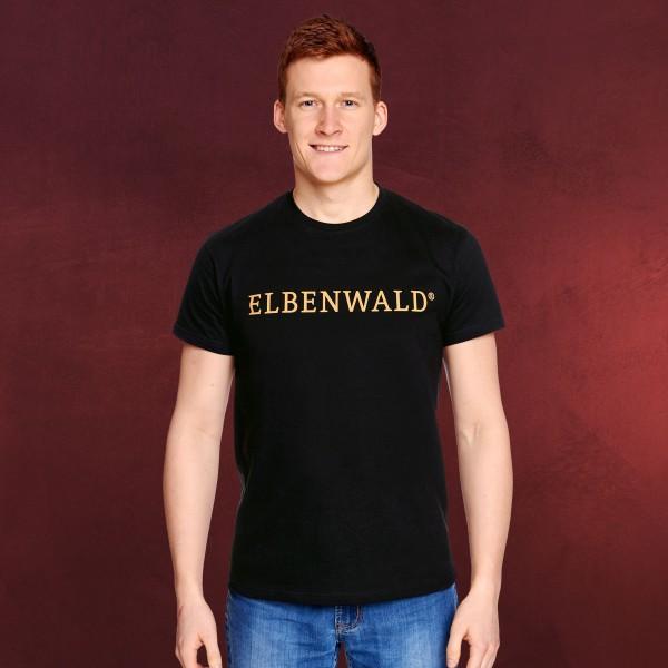 Elbenwald - Classic Logo T-Shirt schwarz