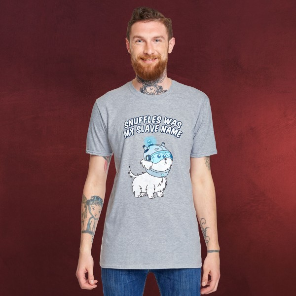 Rick and Morty - Snuffles T-Shirt grau