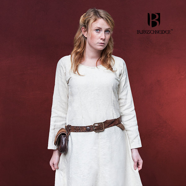 Mittelalter Unterkleid Thora natur