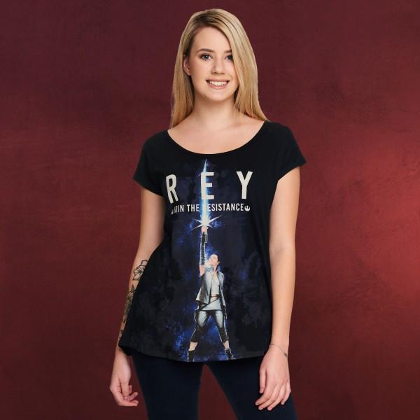 Star Wars - Rey T-Shirt Damen Loose Fit