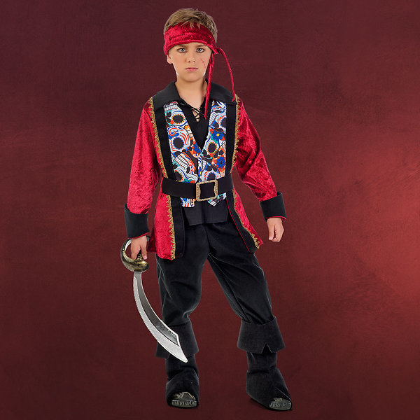 Feuriger Pirat - Kostüm Jungen