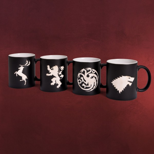 Game of Thrones - Wappen Tassenset Deluxe Limitierte Edition