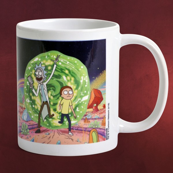 Rick and Morty - Portal Tasse