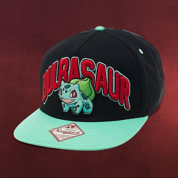 Pokemon - Bisasam Snapback Cap schwarz