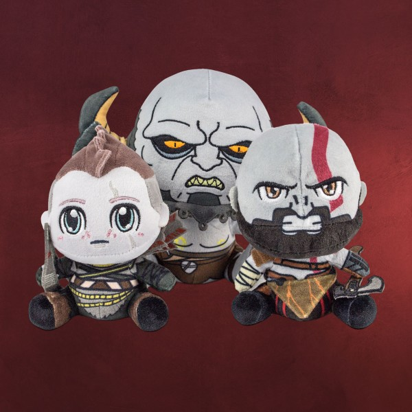 God of War - Stubbins Plüsch Figuren Set