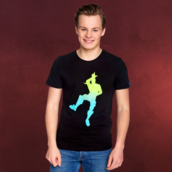 Fortnite - Take the L Dance T-Shirt schwarz