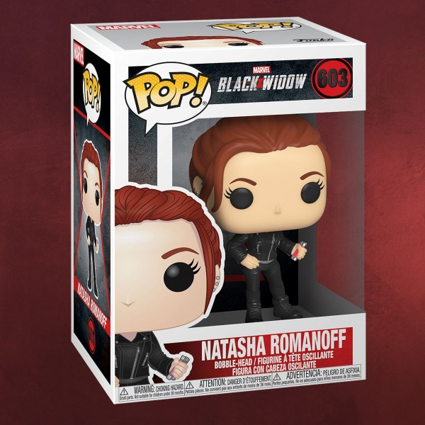 Black Widow - Natasha Romanoff Funko Pop Wackelkopf-Figur