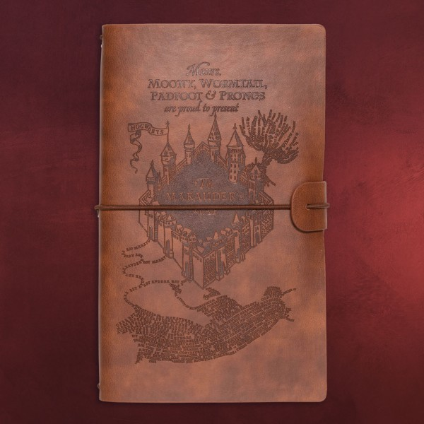 Harry Potter - Karte des Rumtreibers Notizbuch