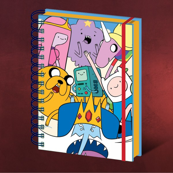 Adventure Time - Characters Notizbuch A5