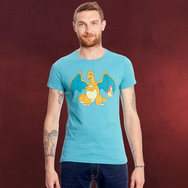 Pokemon - Glurak T-Shirt türkis