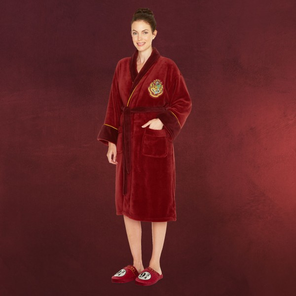 Harry Potter - Hogwarts Express 9 3/4 Fleece Bademantel Damen