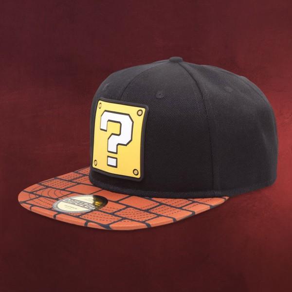 Super Mario - Fragezeichen Snapback Cap