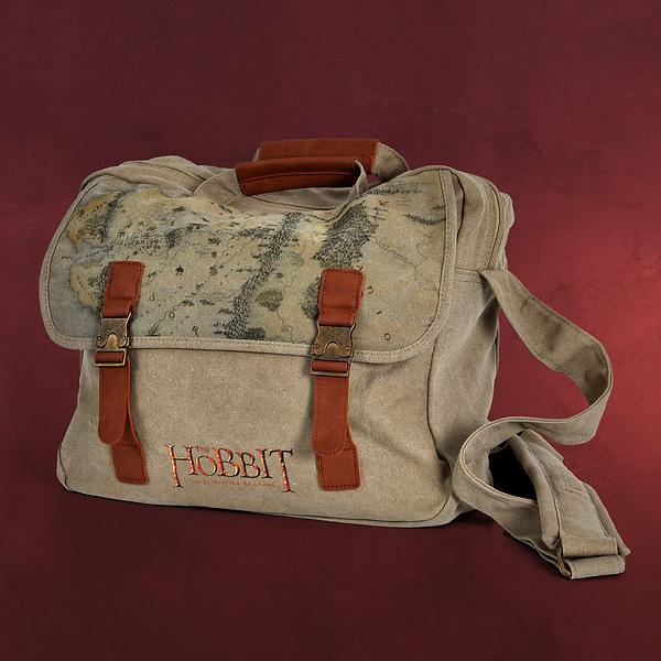 Der Hobbit - Mittelerde Canvas Tasche