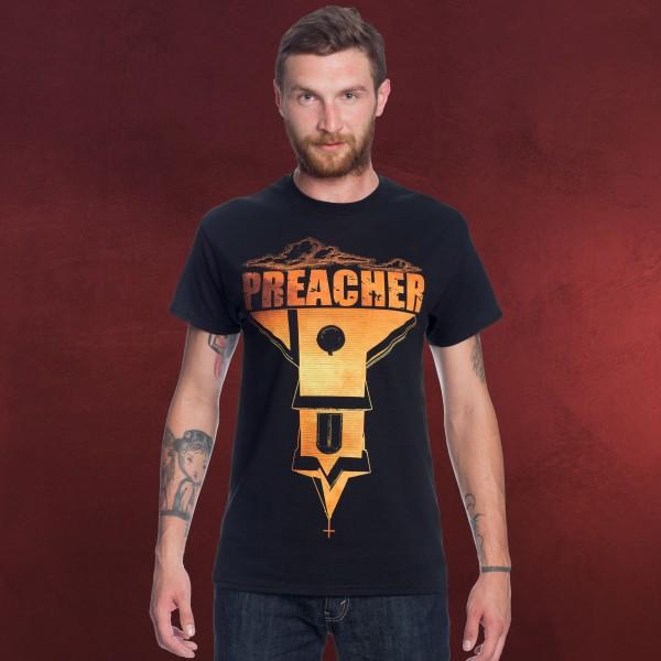 Preacher - Logo T-Shirt schwarz