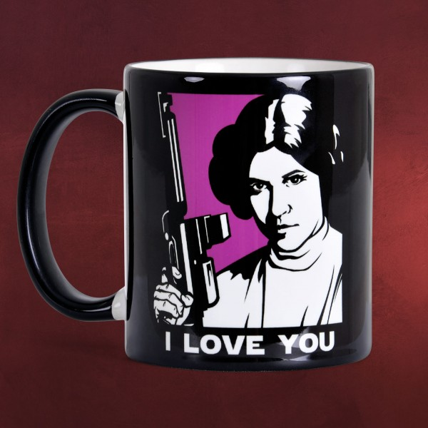 Star Wars - I Love You I Know Tasse