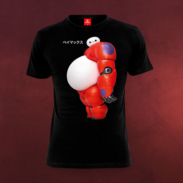 Baymax - Big Boy T-Shirt schwarz