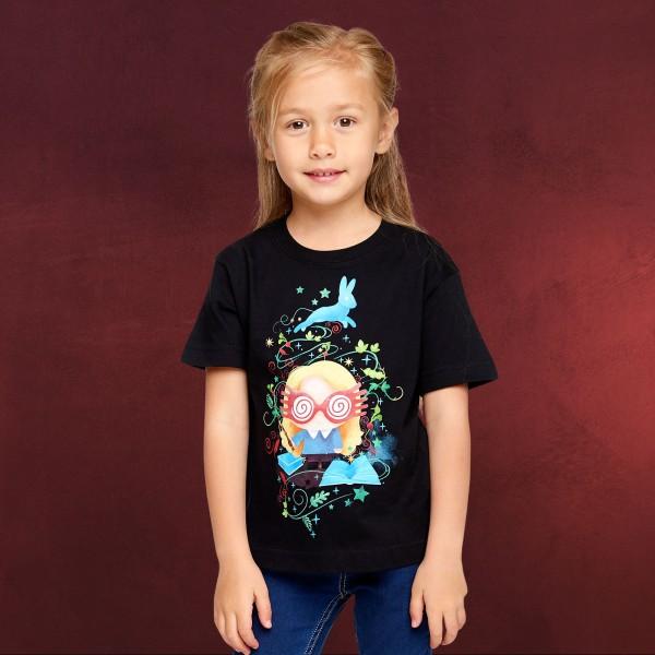 Harry Potter - Chibi Luna T-Shirt Kinder schwarz