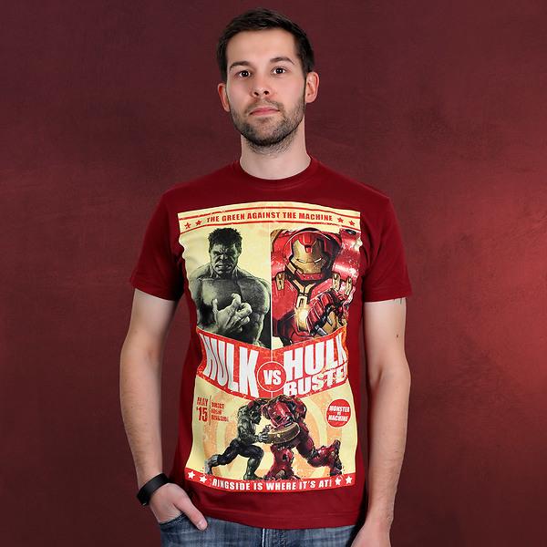 Avengers - Age of Ultron - Hulkbuster T-Shirt rot