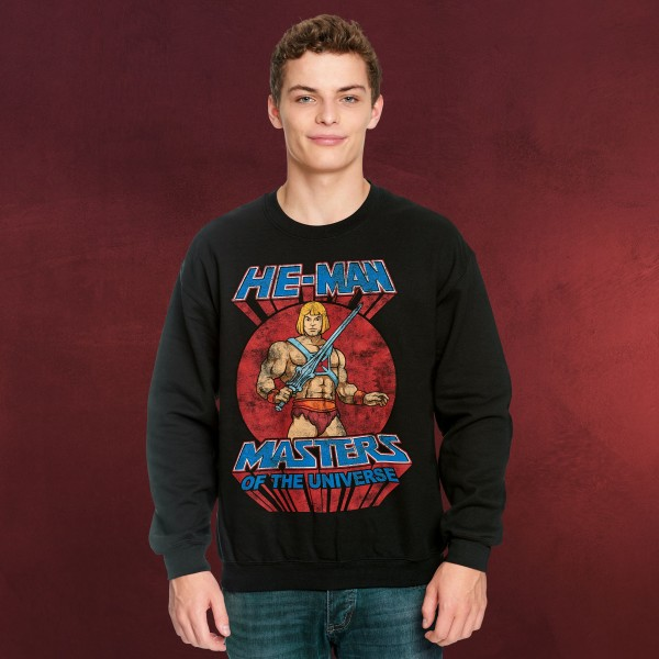 Masters of the Universe - He-Man Pose Sweater schwarz