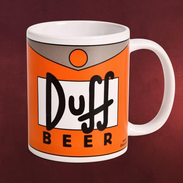 The Simpsons - Duff Beer Tasse