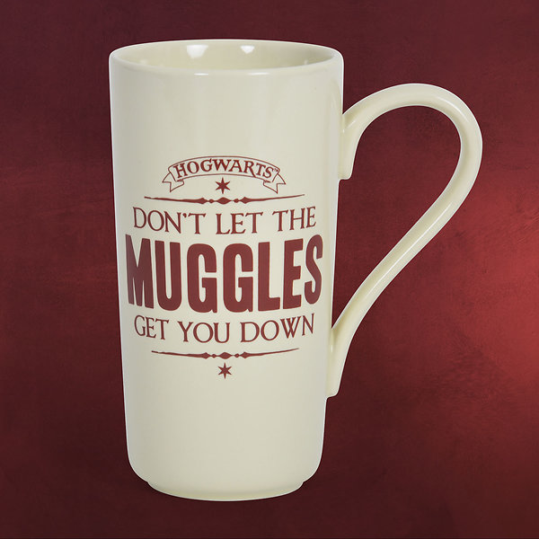 Harry Potter - Muggel Tasse XXL
