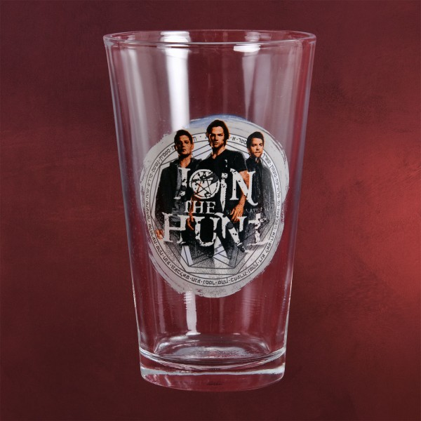 Supernatural - Logo Glas