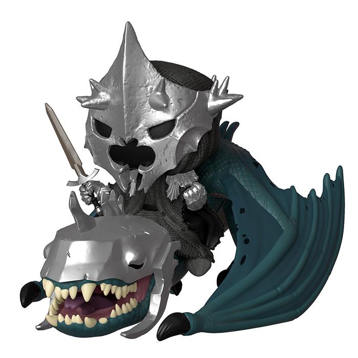 Herr der Ringe - Hexenkönig auf geflügeltem Wesen Funko Pop Figur