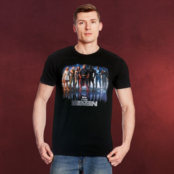 The Boys - The Seven T-Shirt schwarz