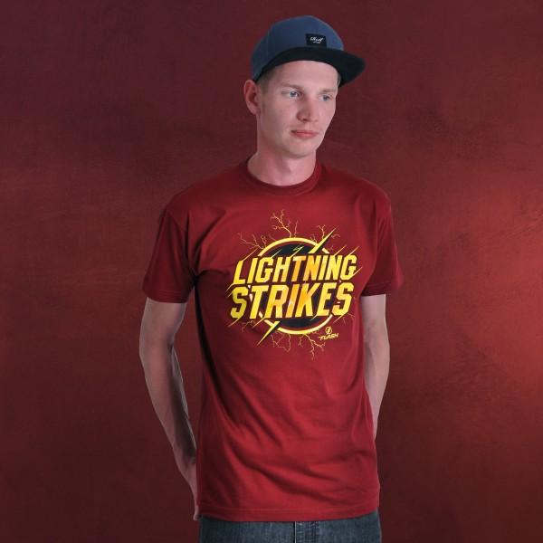 Flash - Lightning T-Shirt rot