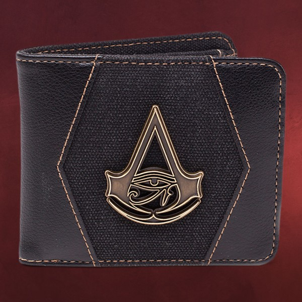 Assassins Creed - Origins Metall Logo Geldbörse