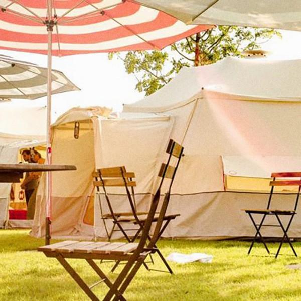 Zelt für fünf (Gemeinschaftsraum)