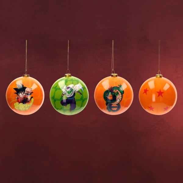 Dragon Ball Weihnachtsbaumkugeln 4tlg