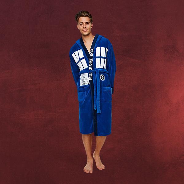 Doctor Who - Tardis Bademantel