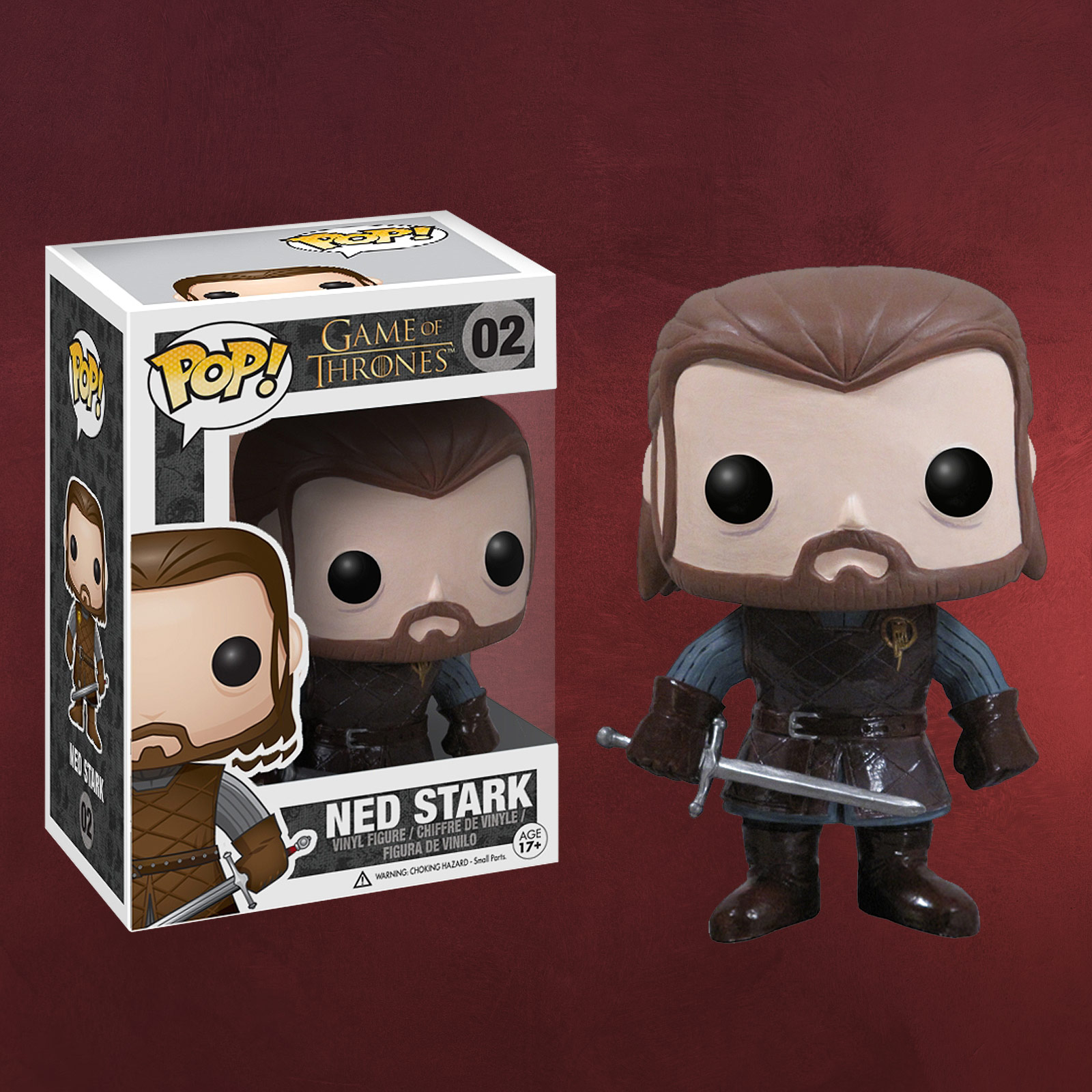 game of thrones ned stark mini figur elbenwald. Black Bedroom Furniture Sets. Home Design Ideas