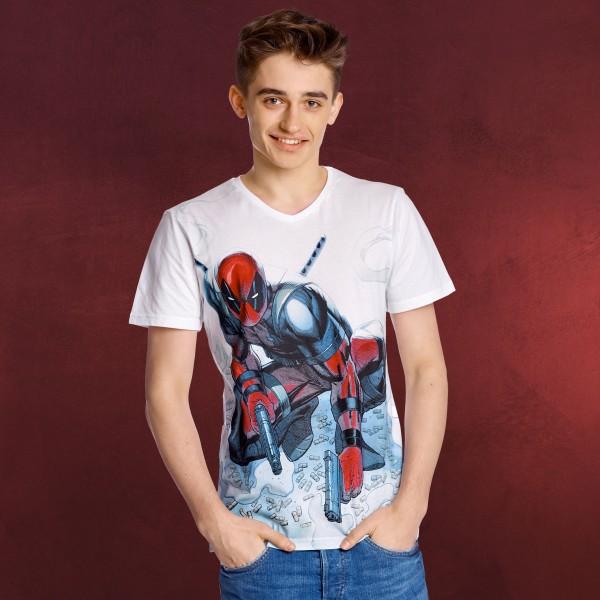 Deadpool Shooting - T-Shirt